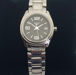 Longines Lungomare Quartz Stainless Steel Watch