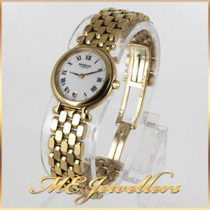 RAYMOND WEIL Gold plated Ladies Swiss Quartz DateWatch 9937-2