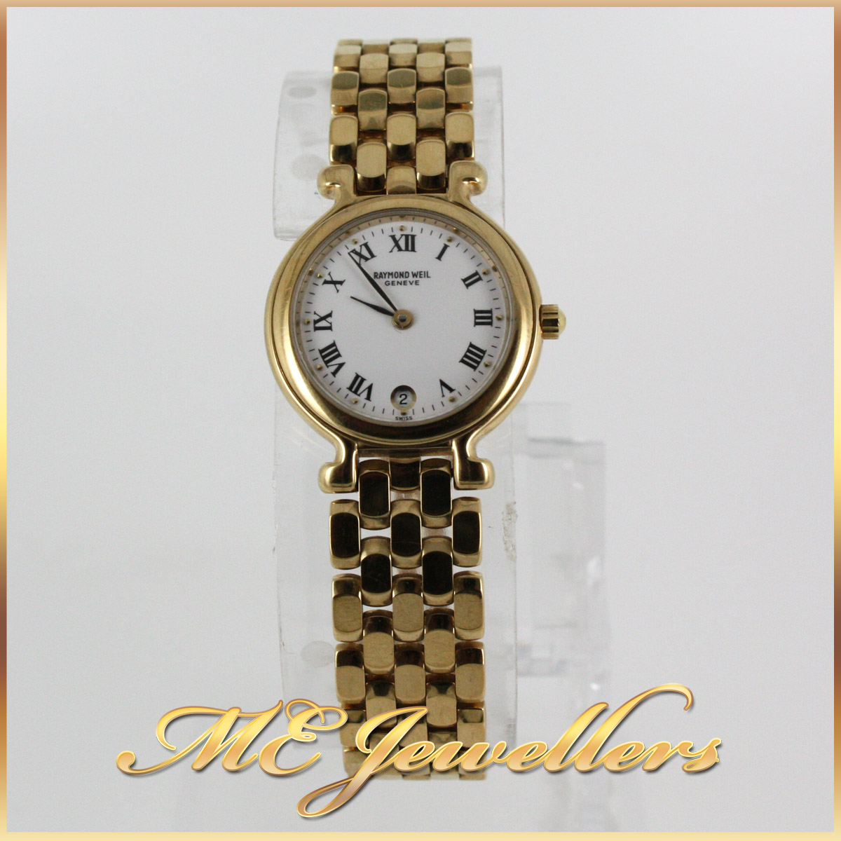 2262 Raymond weil gold ladies watch 4