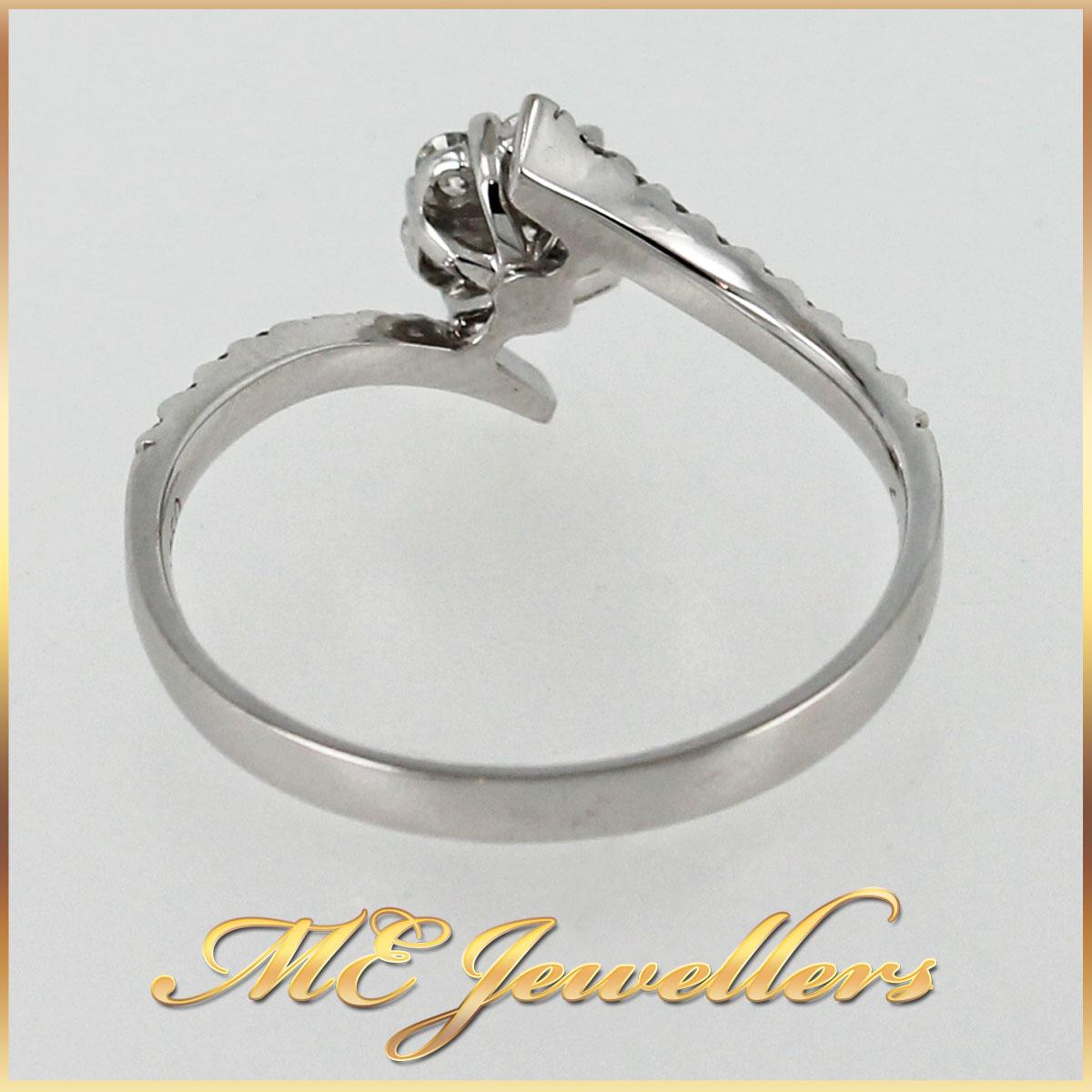 3044 Floral Cluster Dress Ring band