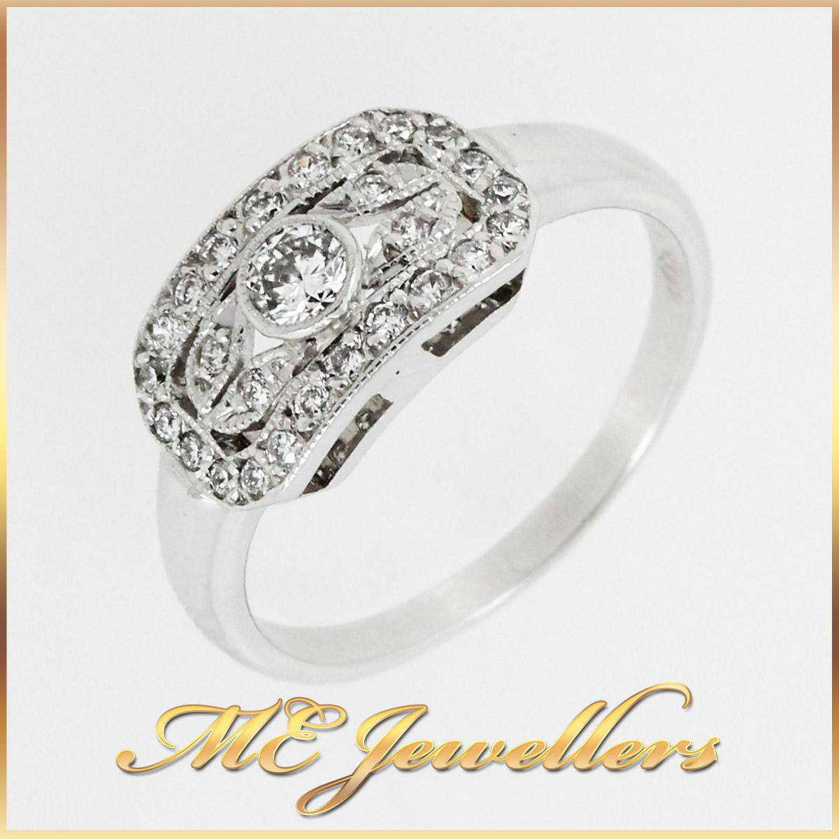 6033 Modern Diamond Dress Ring main
