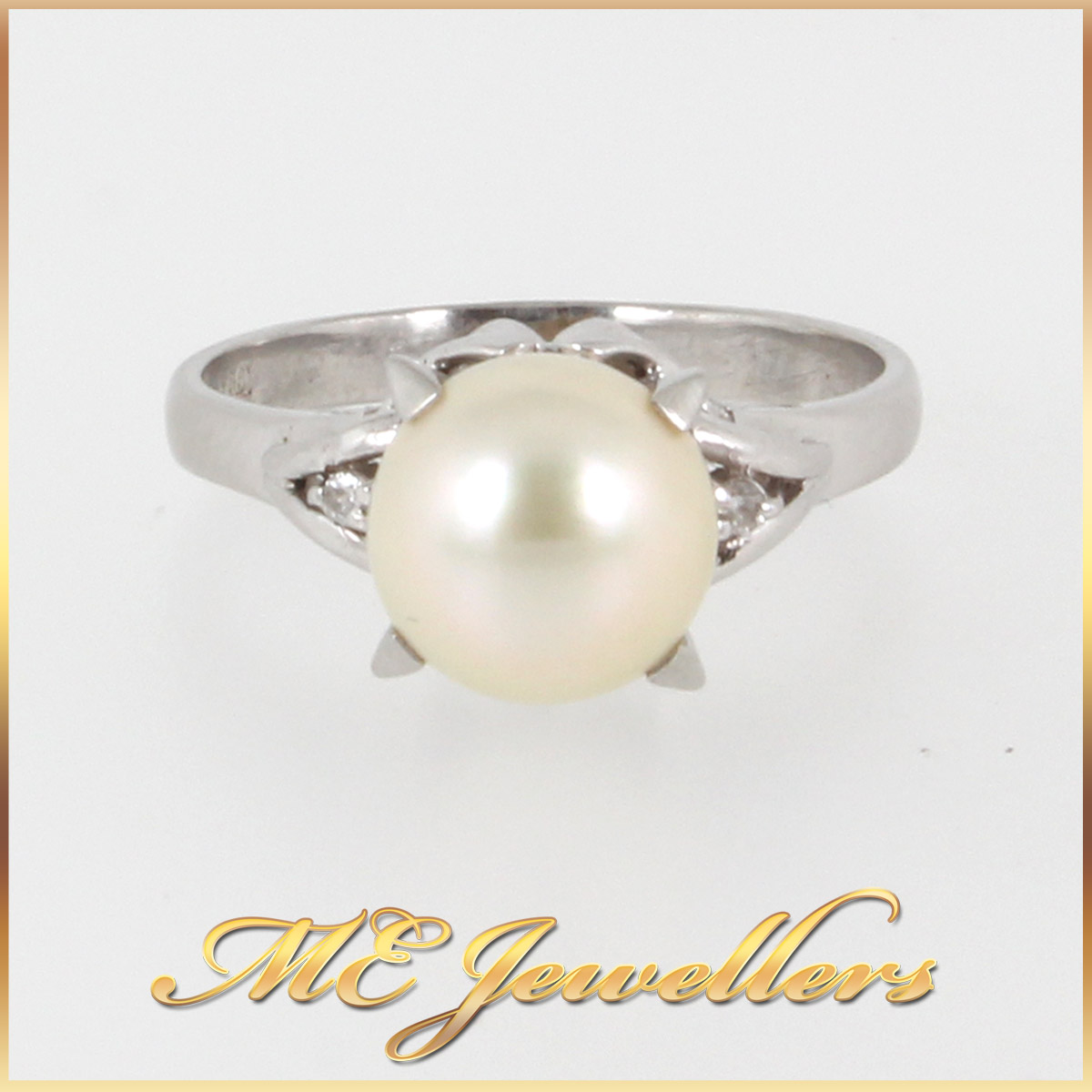 1377 Pearl Dress Ring In platimum main