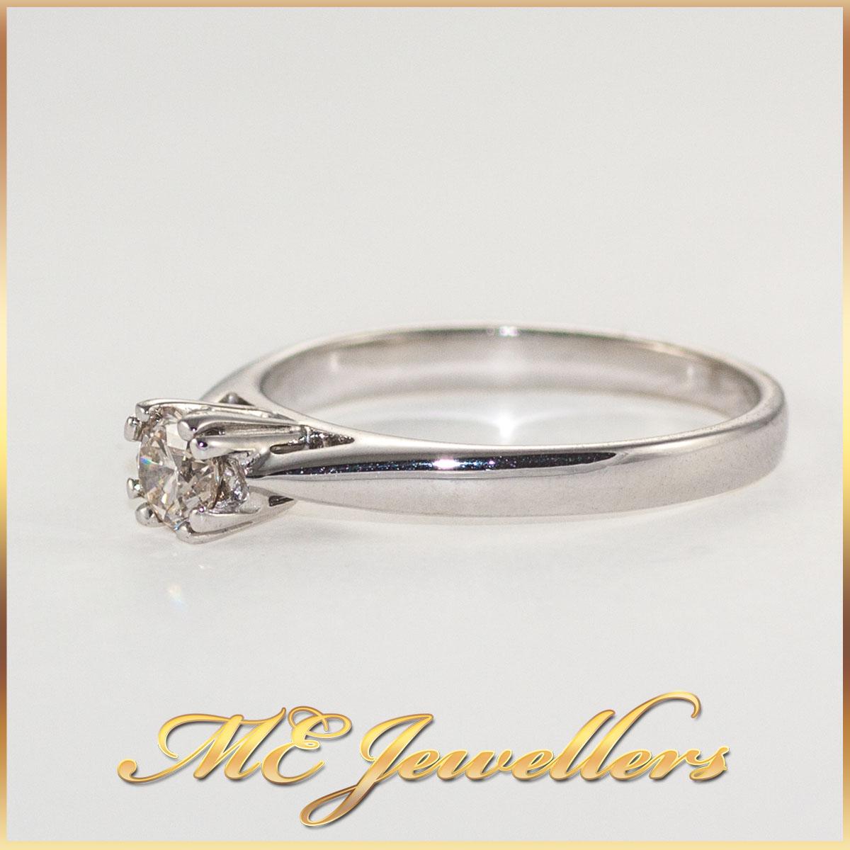 Solitaire Round Diamond