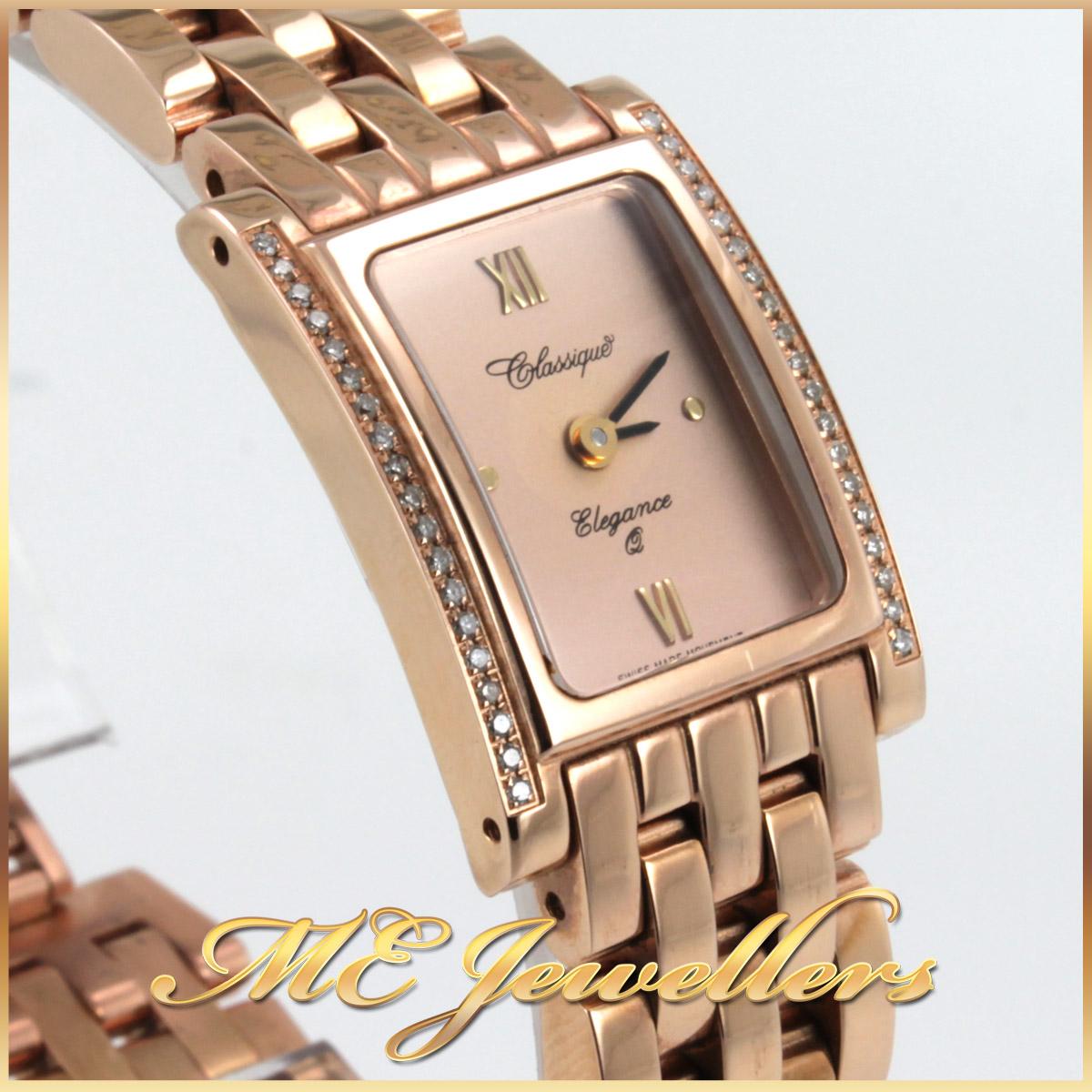 2057 Classique Ladies Watch Diamond Bezel side 2