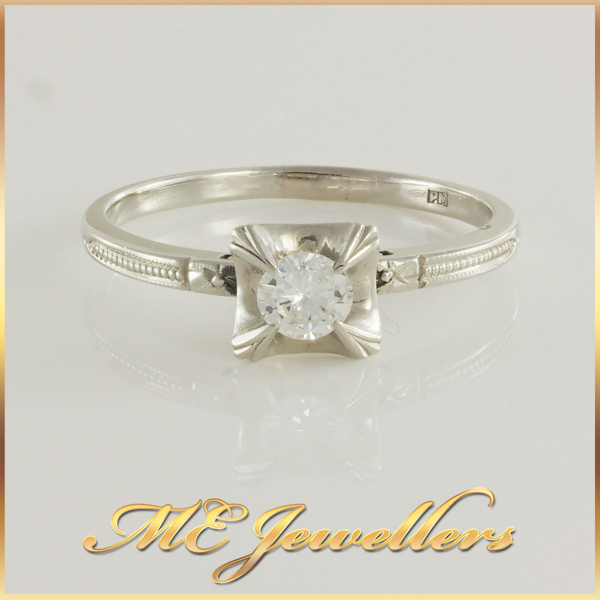 Vintage Art Deco Engagement Rings Melbourne