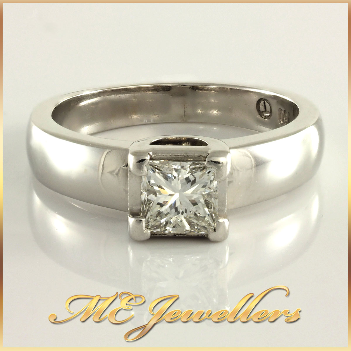 0.80ct Diamond Solitaire Engagement Ring