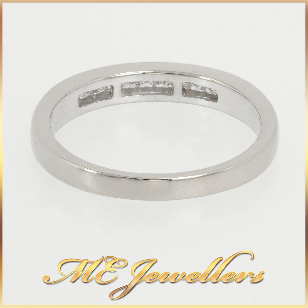 18k Ladies Channel Set Diamond Ring