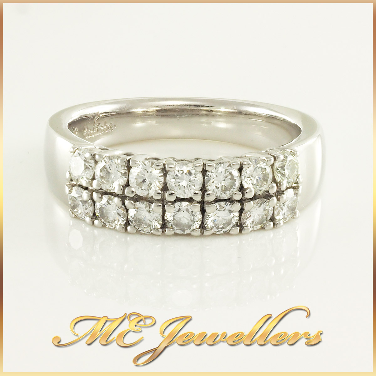 0.70ct TW Cluster Diamond Dress Ring