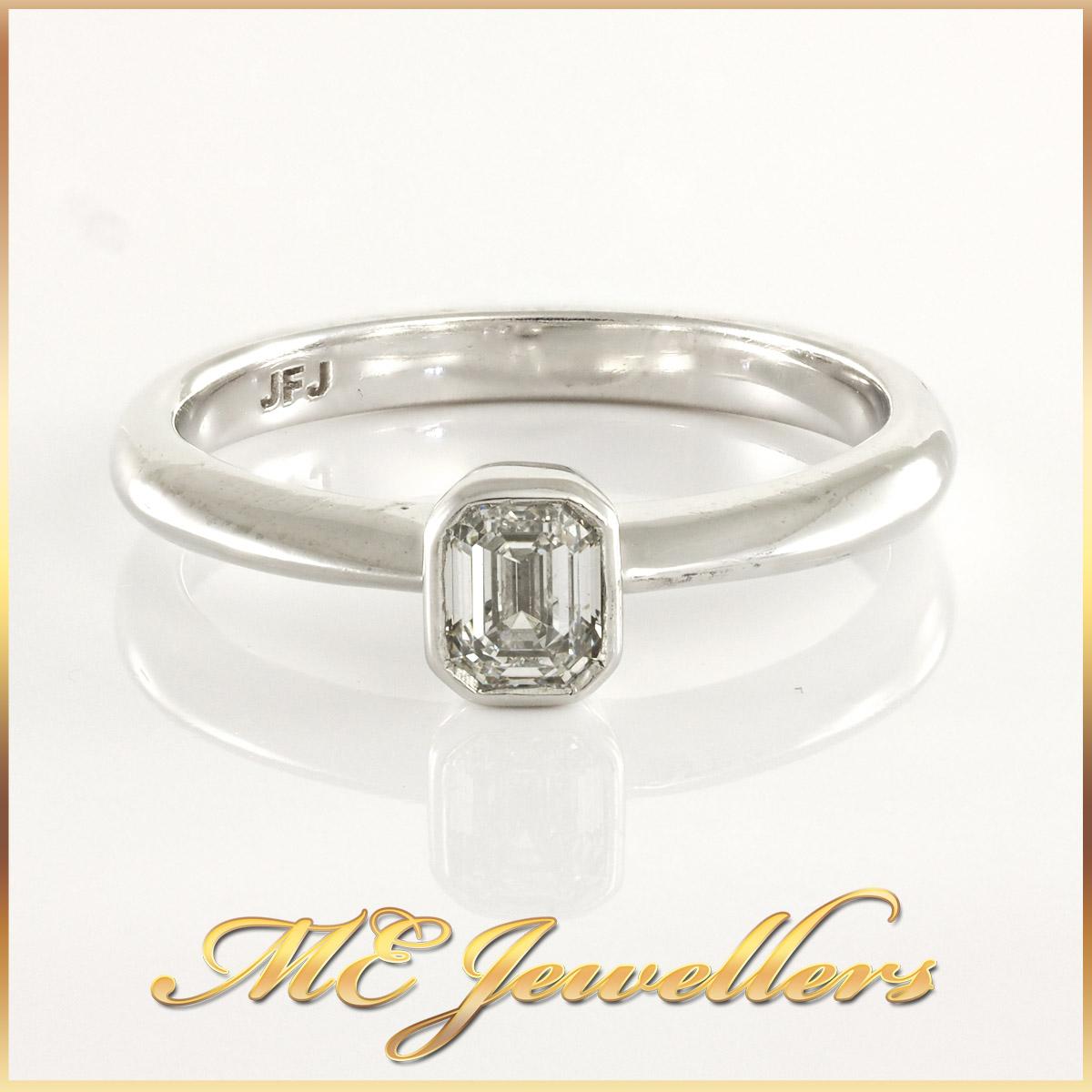 Ladies Platinum Bezel Diamond