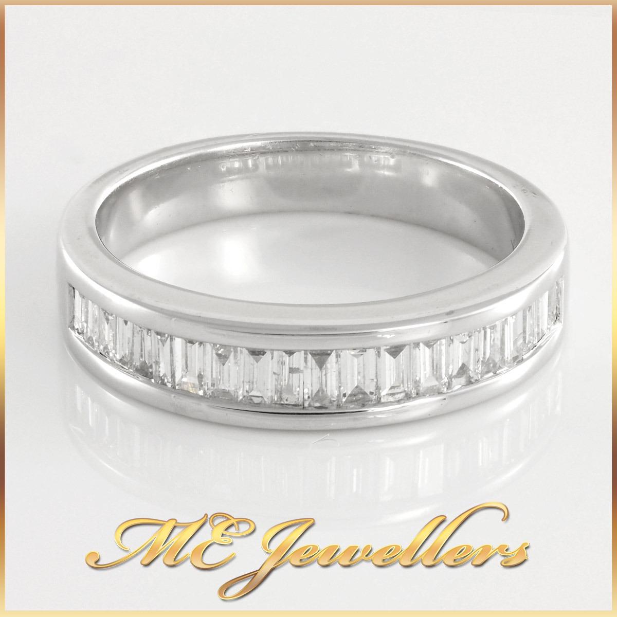 Baguette Diamond Wedding Ring and Valuation