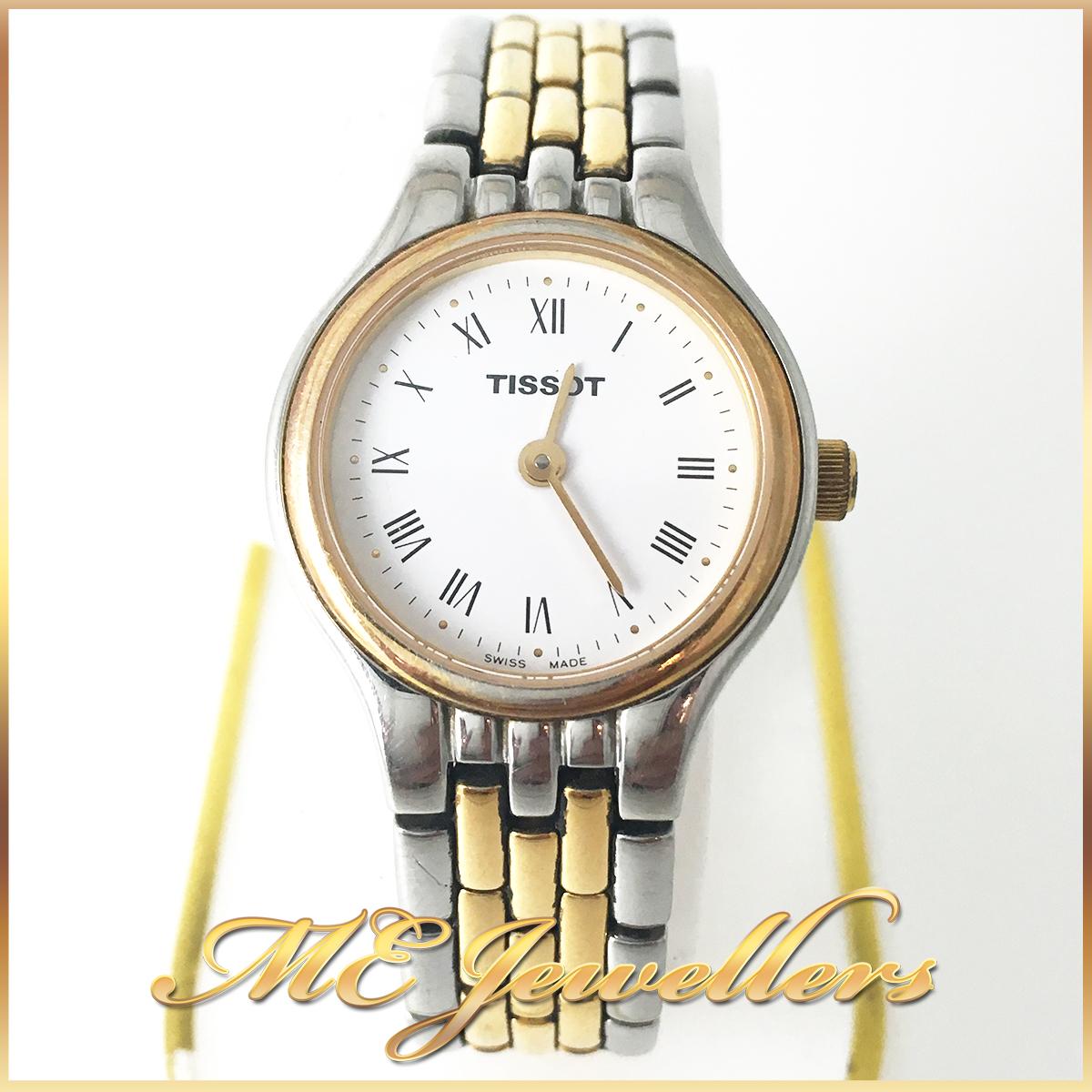 Tissot 2 tone watch