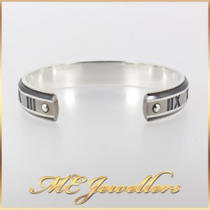 Tiffany Atlas Cuff Sterling Silver And Titanium