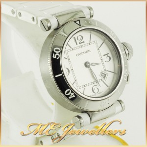 6697_Cartier Pasha De Cartier Watch White Rubber Band (10)