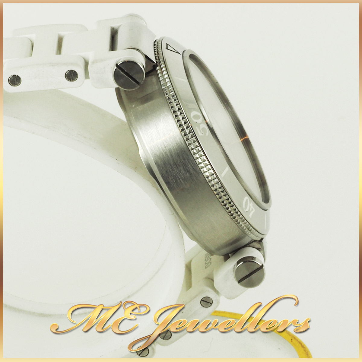 6697_Cartier Pasha De Cartier Watch White Rubber Band (7)