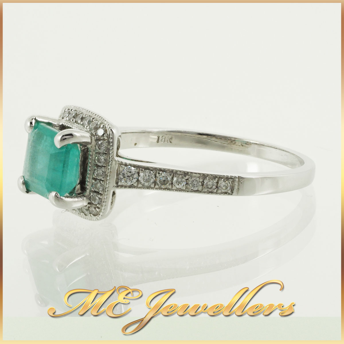 6746 natural-emerald-ring-with-diamond-18k-whg-2