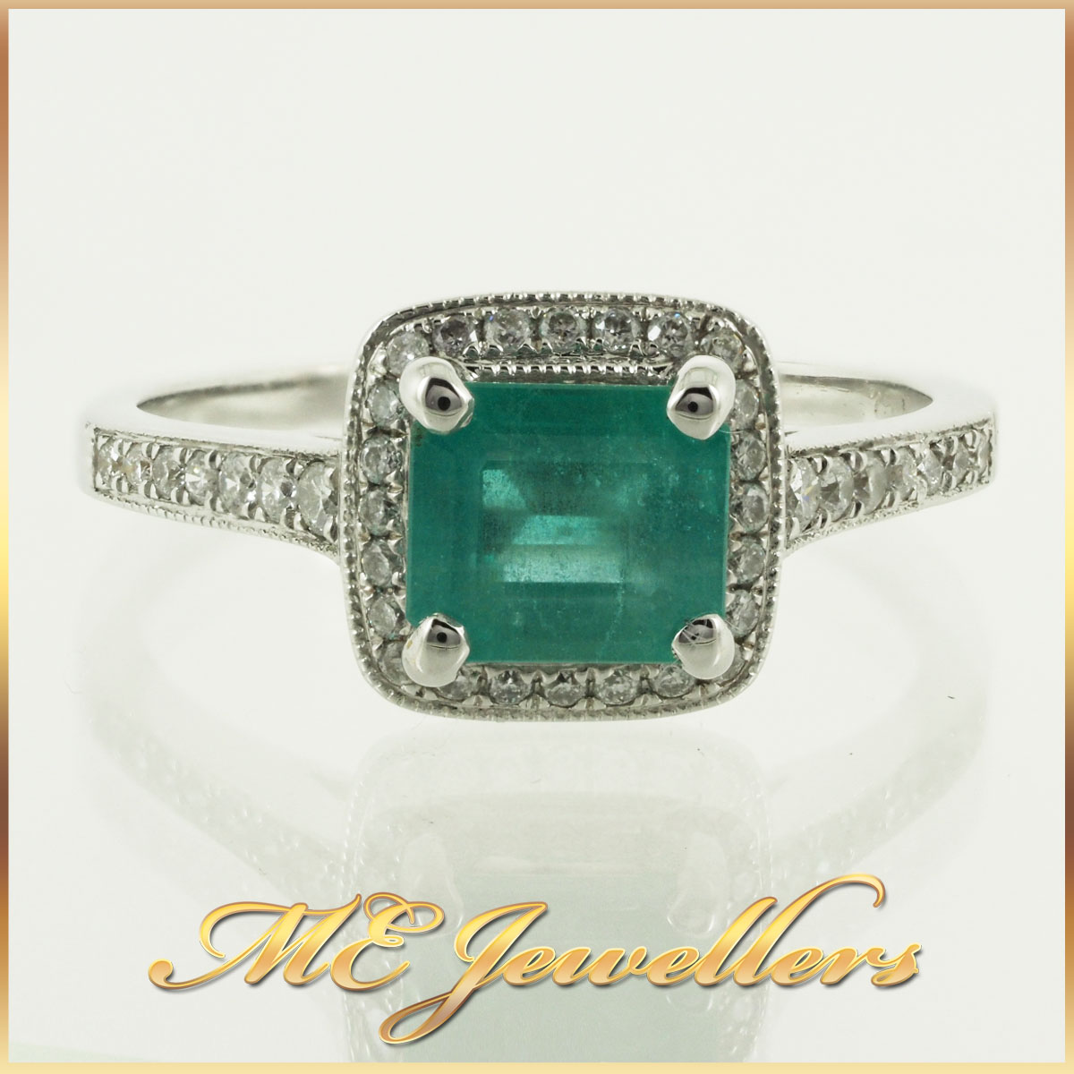 6746 natural-emerald-ring-with-diamond-18k-whg-5