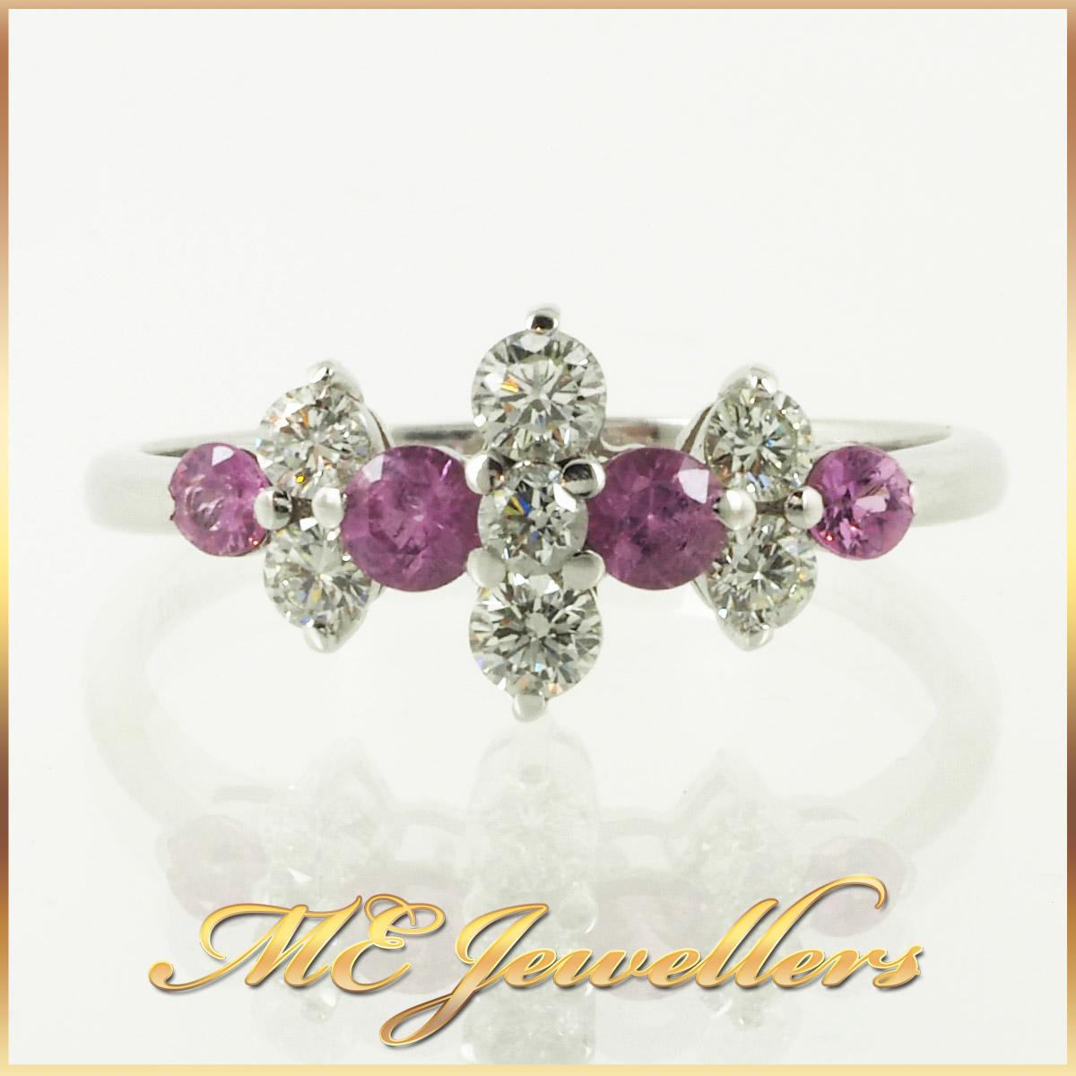 6762_diamond-pink sapphire-ring-18k-white-gold-4