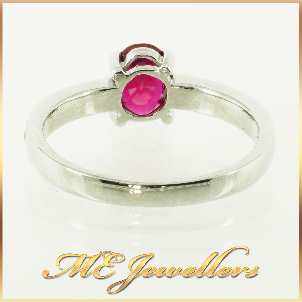 6610-african-ruby-ring-with accents diamond 18K white gold 4