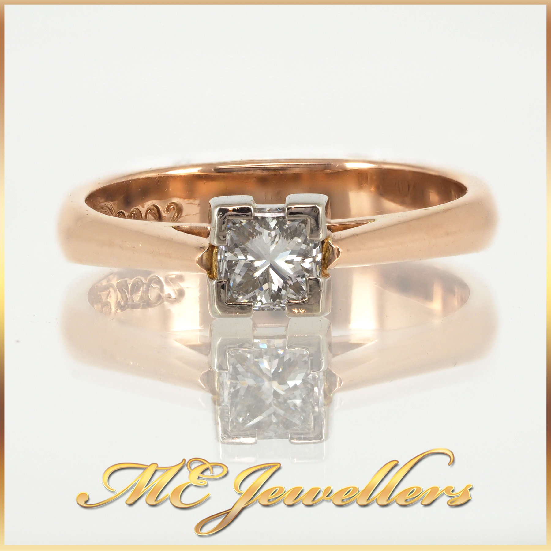 379 Princess Cut Solitaire Engagement Ring