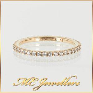 Pandora Stackable Yellow Gold Ring