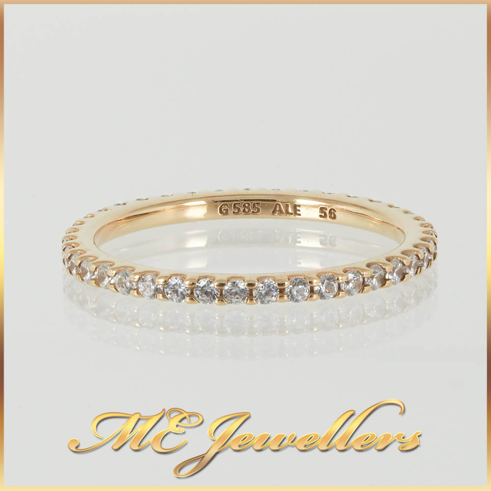 Pandora Stackable Yellow Gold Ring