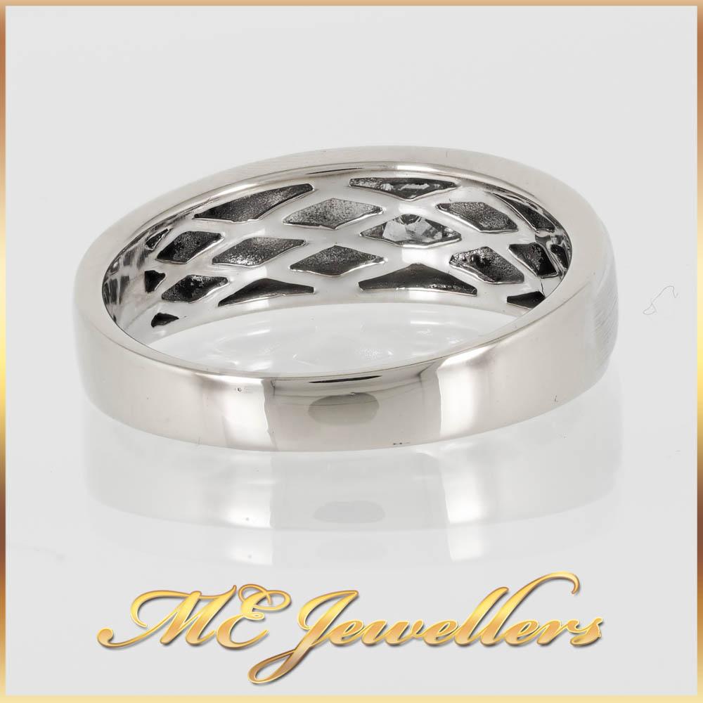 508 Diamond Mends Wedding Band 18K White Gold 4