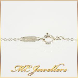 Tiffany Cushion Cut Citrine Pendant Necklace