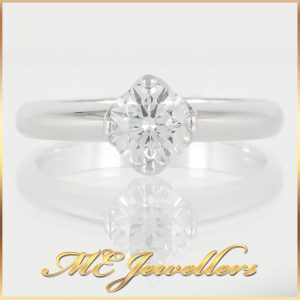 0.82CT Solitaire Diamond Ring
