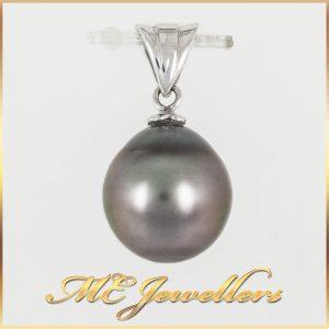 10mm Cultured Tahitian Pearl Pendant