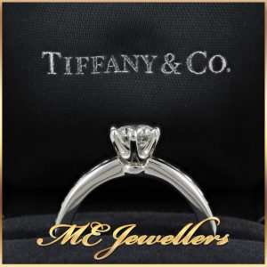 Tiffany Channel Set Engagement Ring