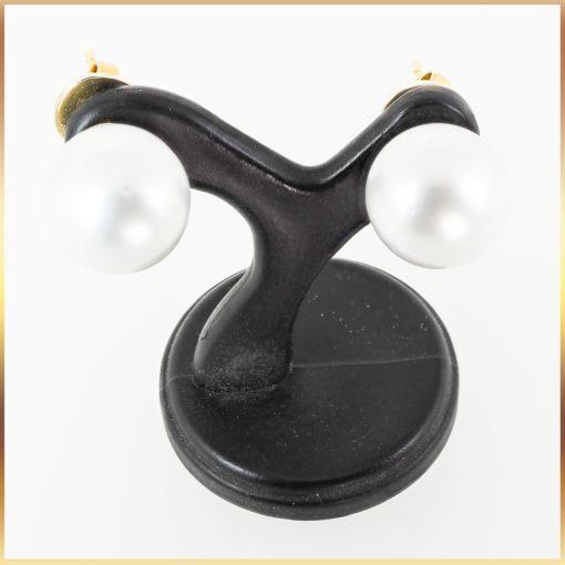 14k South Sea Pearl Stud Earrings
