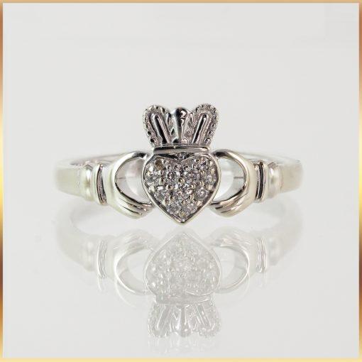 Irish-Made 9K Claddagh Ring
