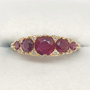 Yellow Gold deep red