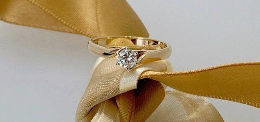 Luminous Yellow Gold Diamond