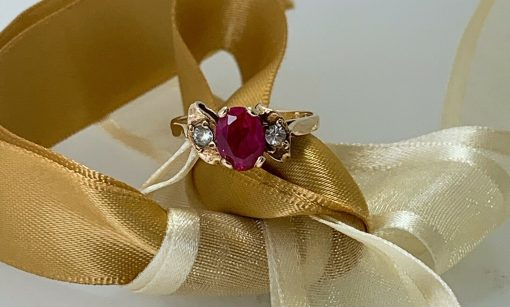 Authentic Vintage Yellow Gold