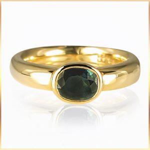 Australian Sapphire Ladies Ring