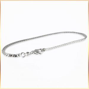Flat Snake Chain Bracelet
