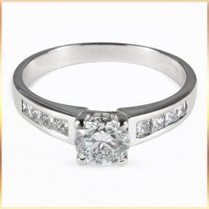 GIA Diamond Solitaire Ring