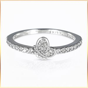 Silver Band Promise Ring